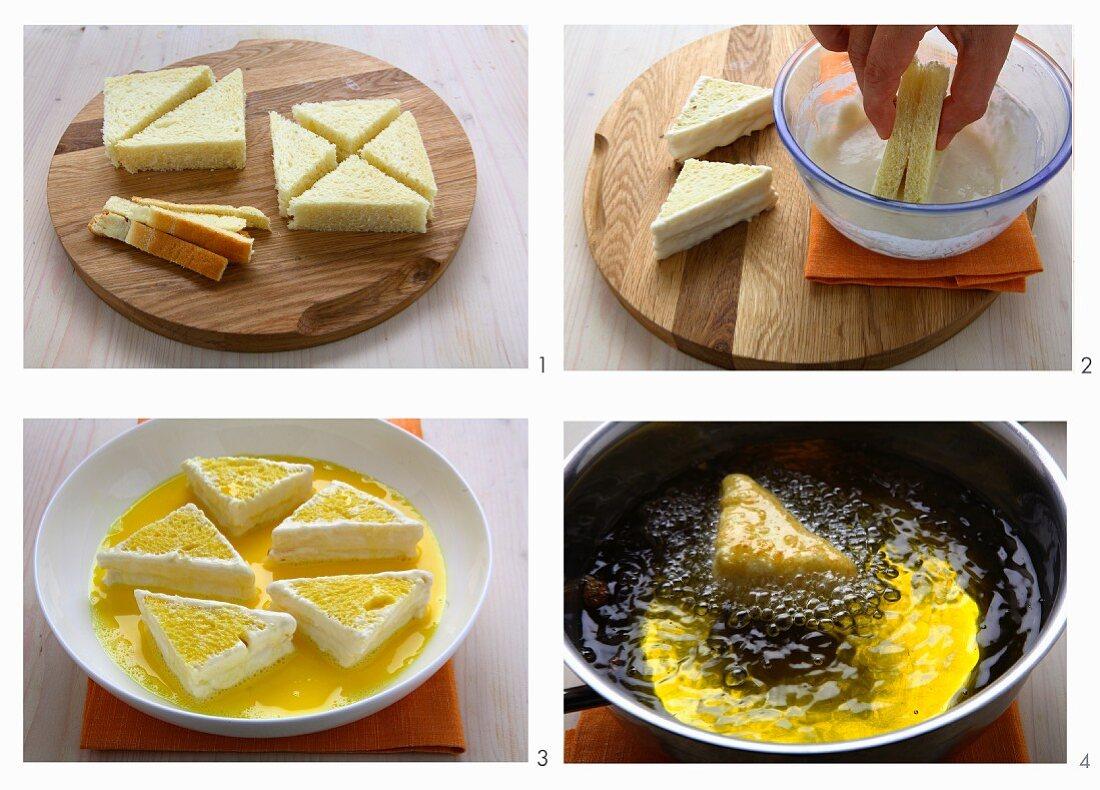 Mozzarella in Carrozza zubereiten
