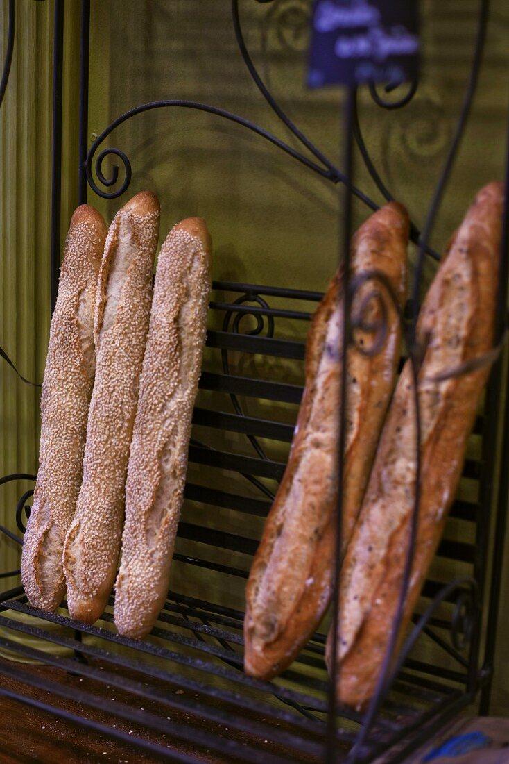 Various baguettes