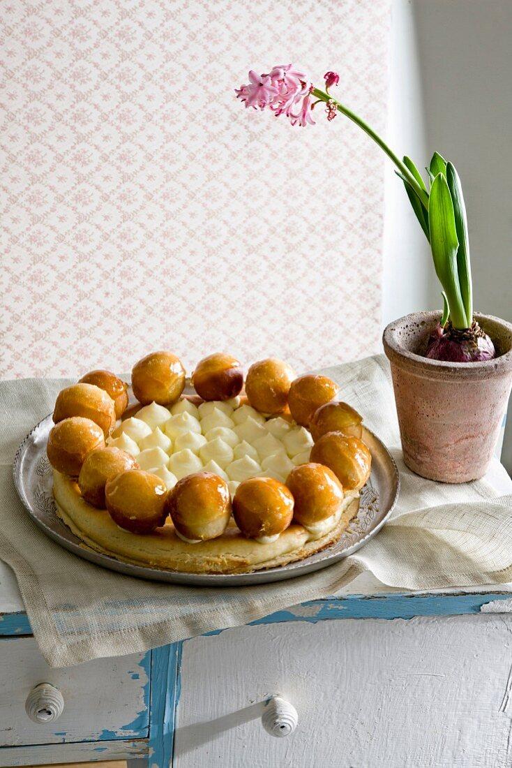 Saint Honore cake (France)