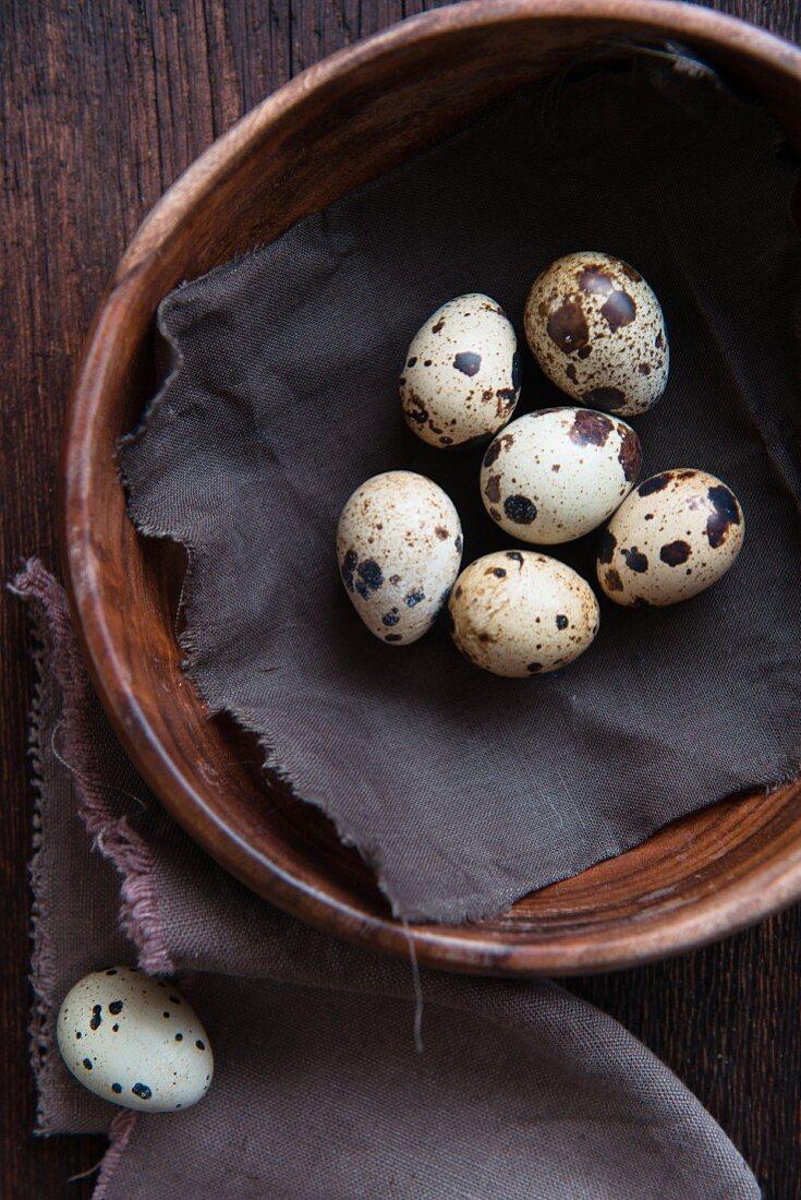 Quails' eggs