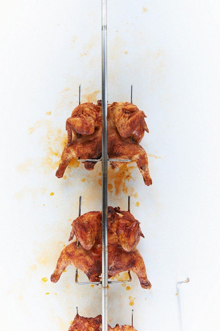Hawaiian Spit Roasted Chicken
