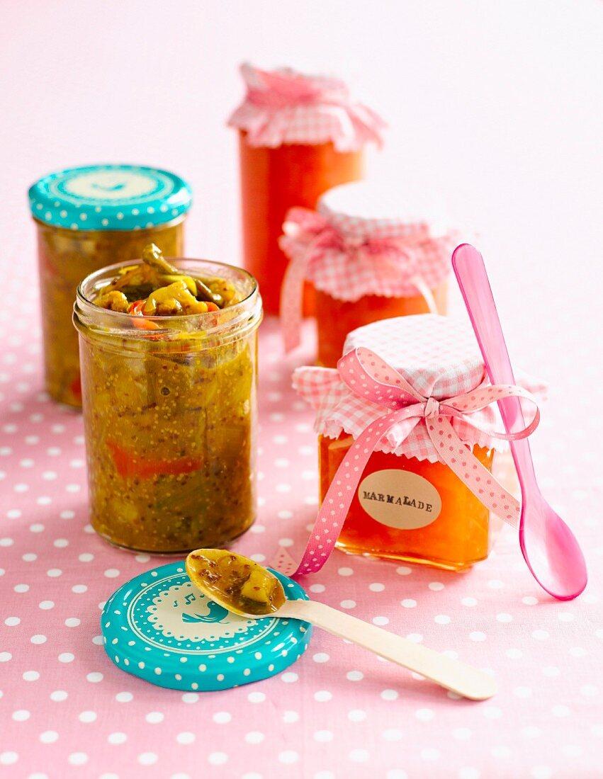 Grapefruit and ginger marmalade