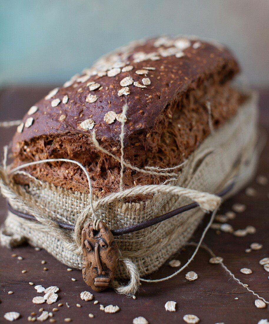 Gluten Free Hearty Whole Grain Bread