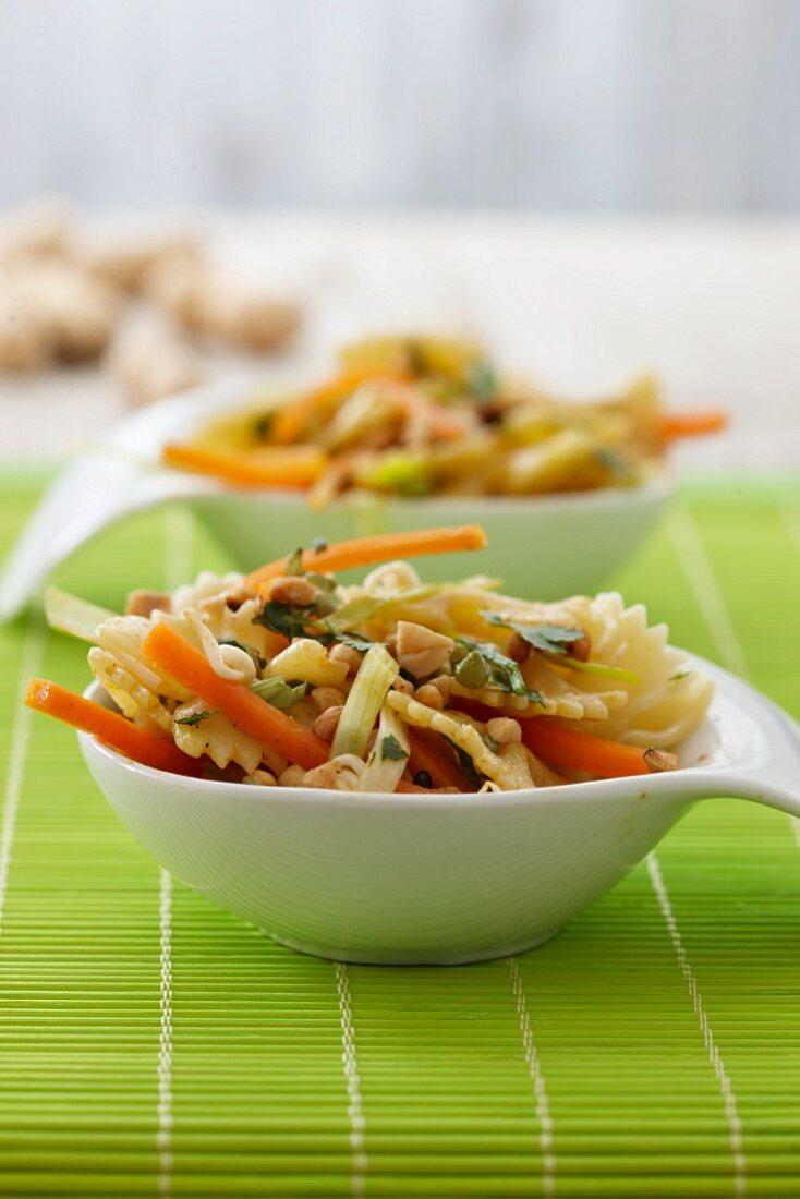 Pasta salad, Asian-style