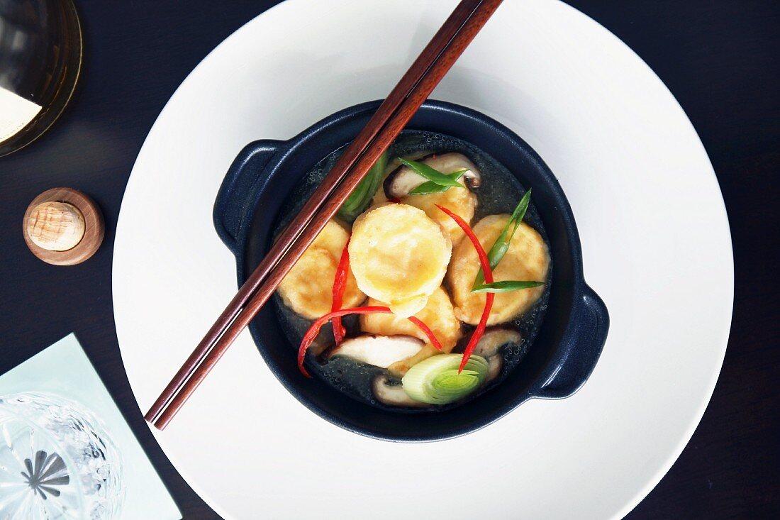 Tofu nuggets, Japanese style