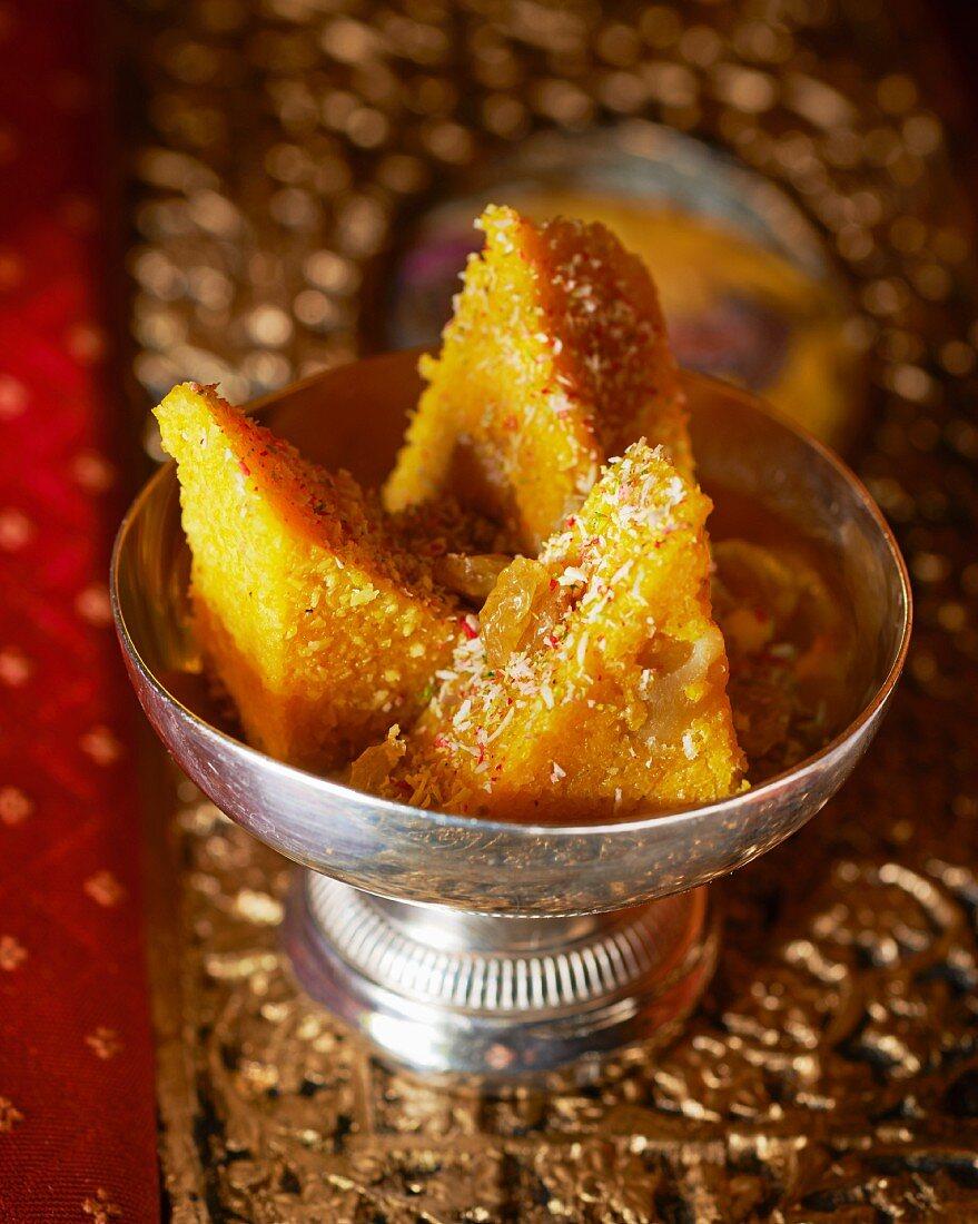 Halwa (semolina cake, India)