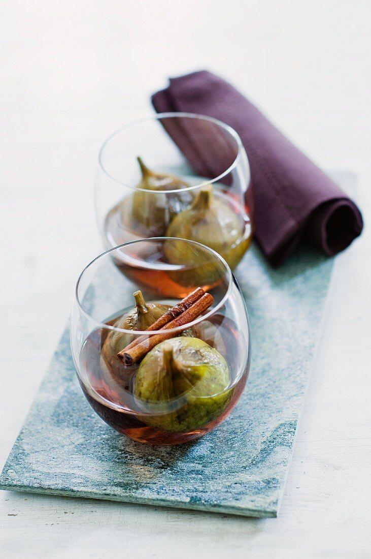 Figs in brandy