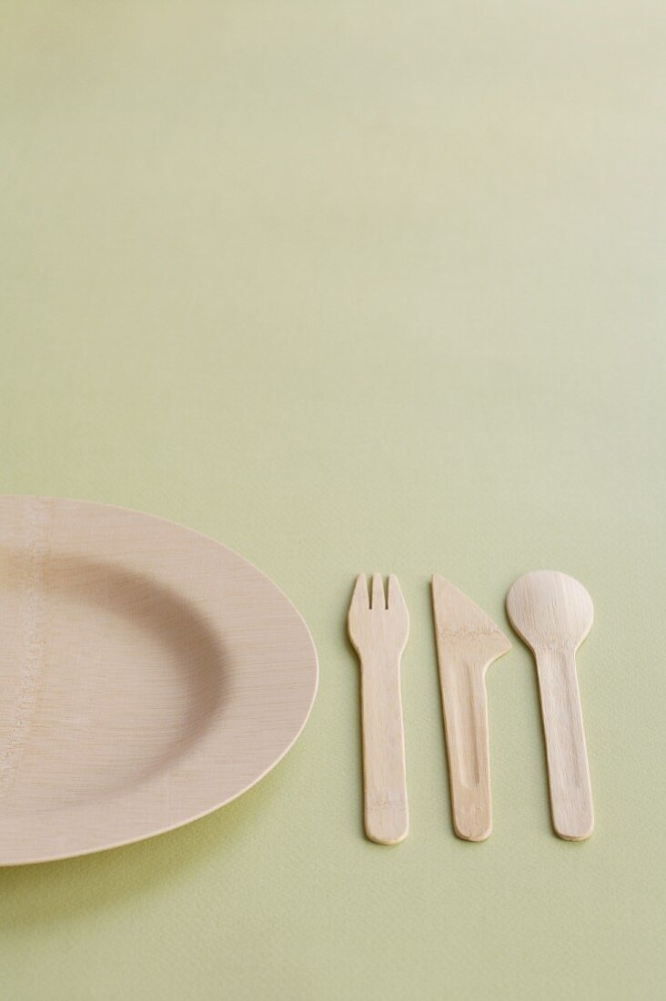 A Bamboo Place Setting