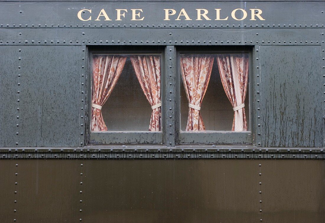 Windows of Cafe Parlor