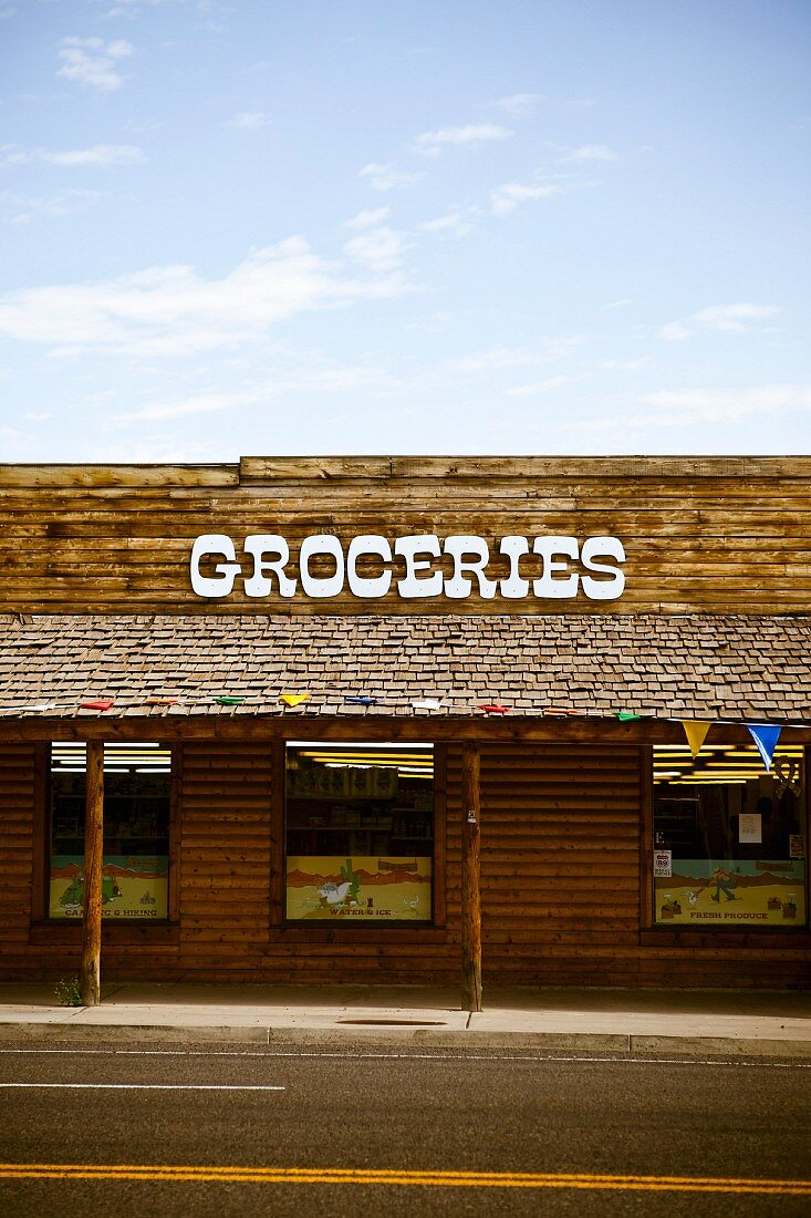 Grocery Store Facade