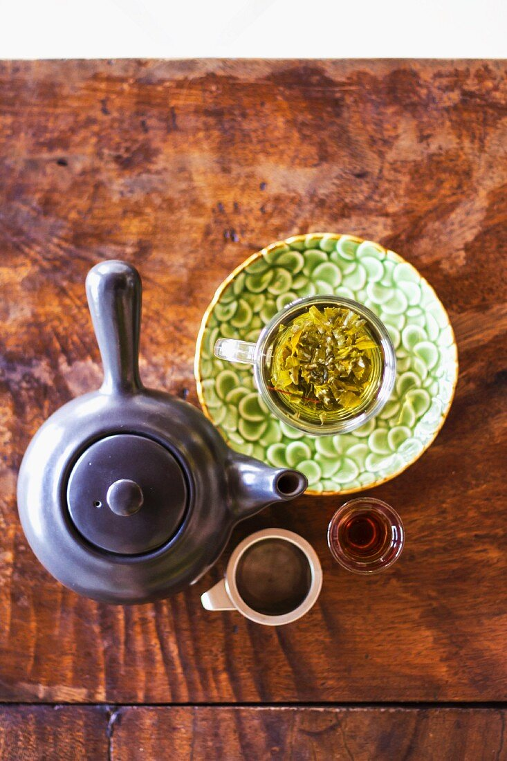 Ashitaba tea from Japan