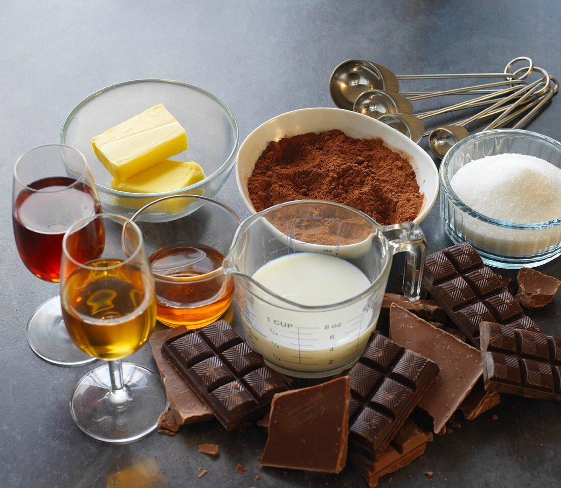 chocolate truffle ingredients