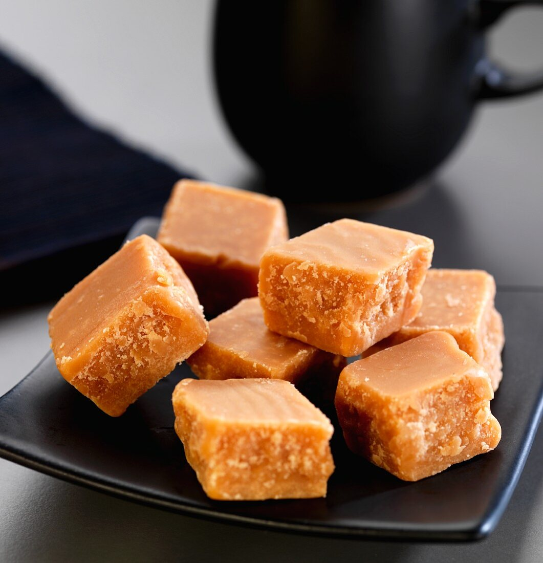 A plate of fudge