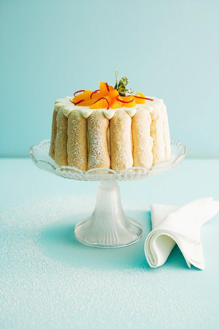 Ice orange charlotte