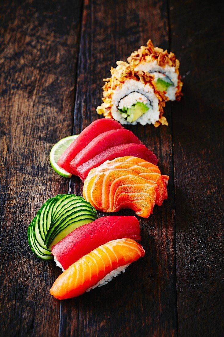 Sushi and sashimi (Japan)