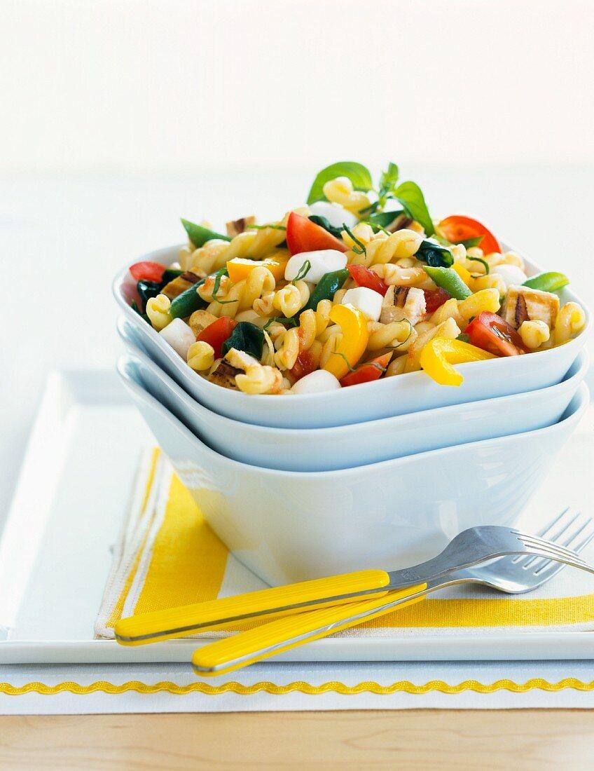 A summer pasta salad