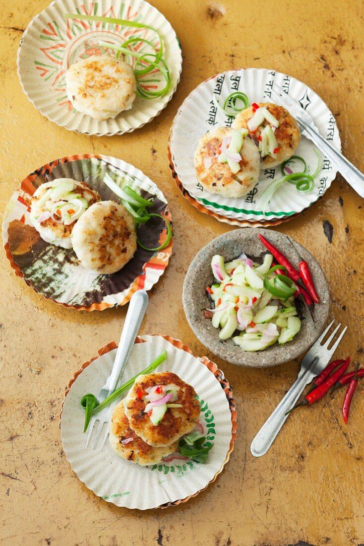 Fish cakes (Thailand)