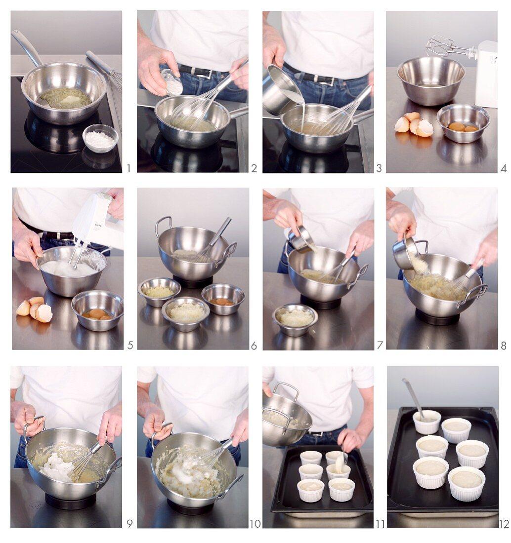 Käsesoufflée zubereiten