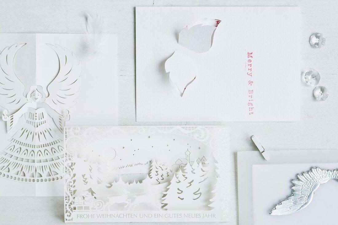 Various Christmas cards