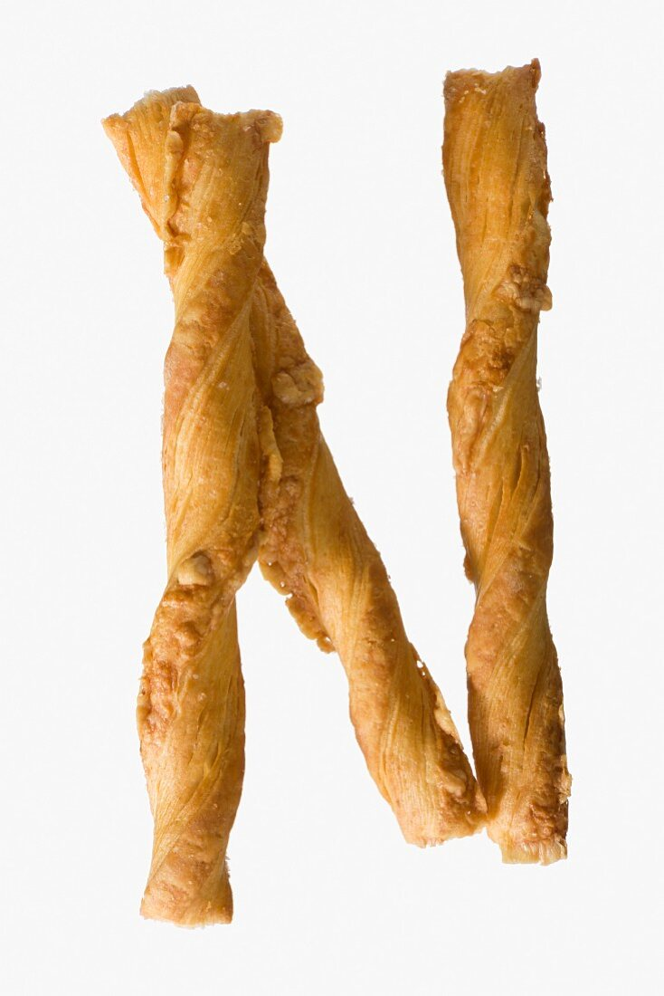 Three cheesy bread sticks