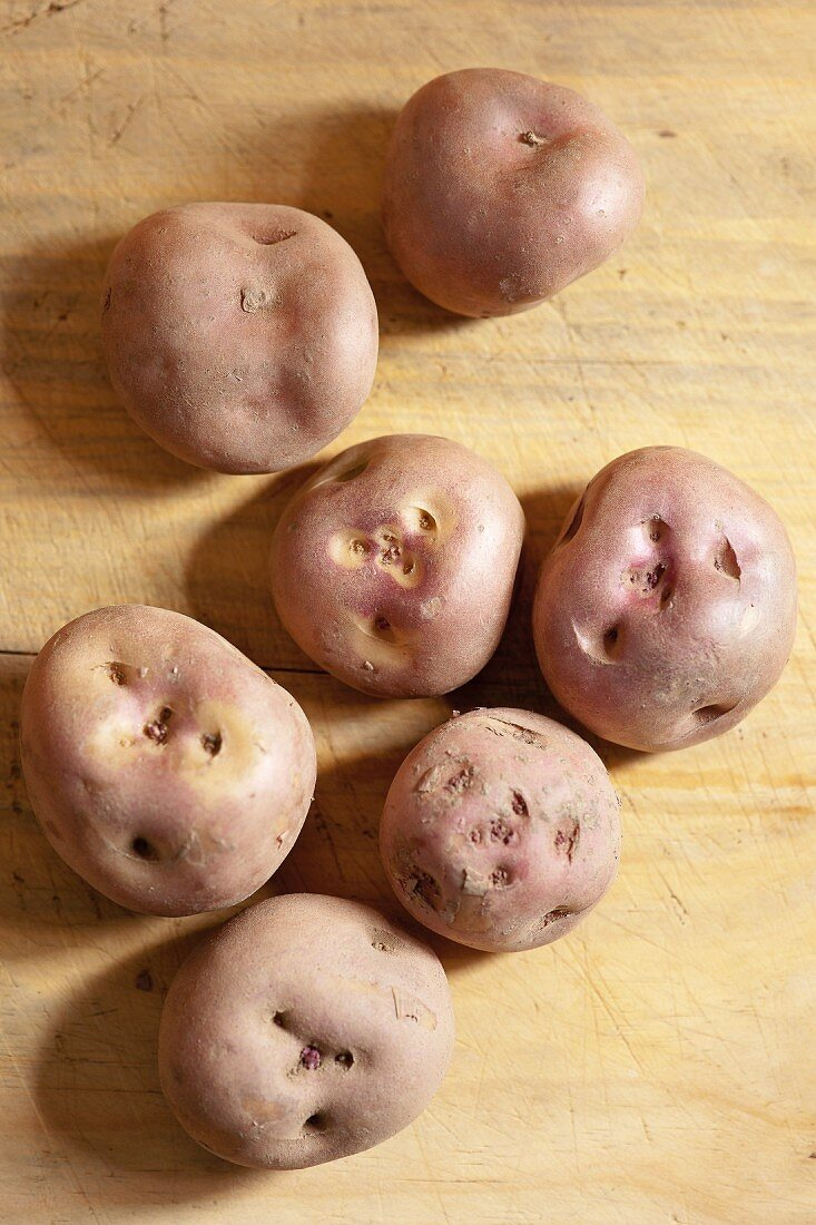 Waycha - on old type of potato from the Andes