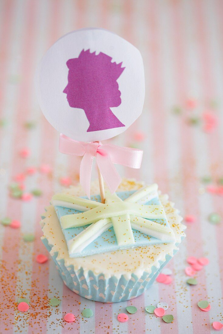 A royal cupcake (England)