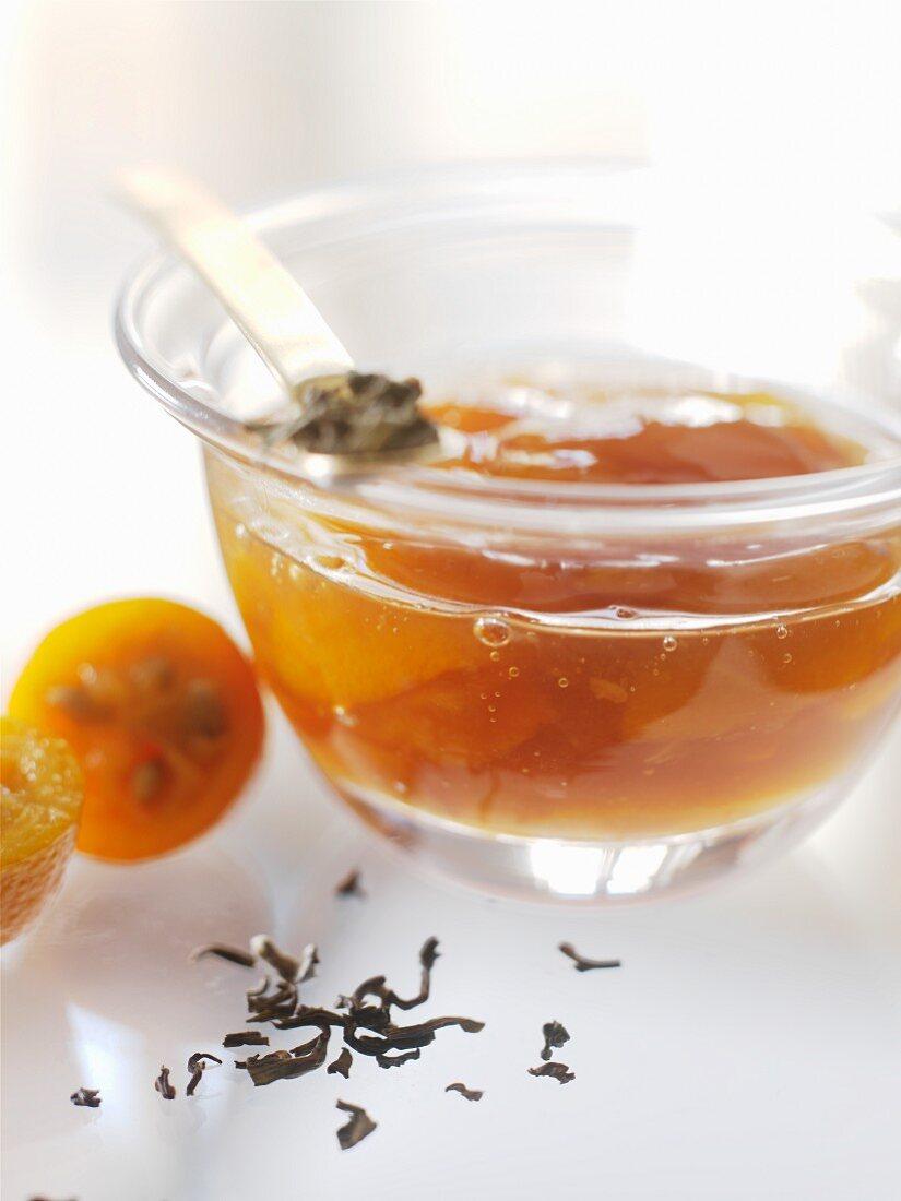Kumquat-tea jam