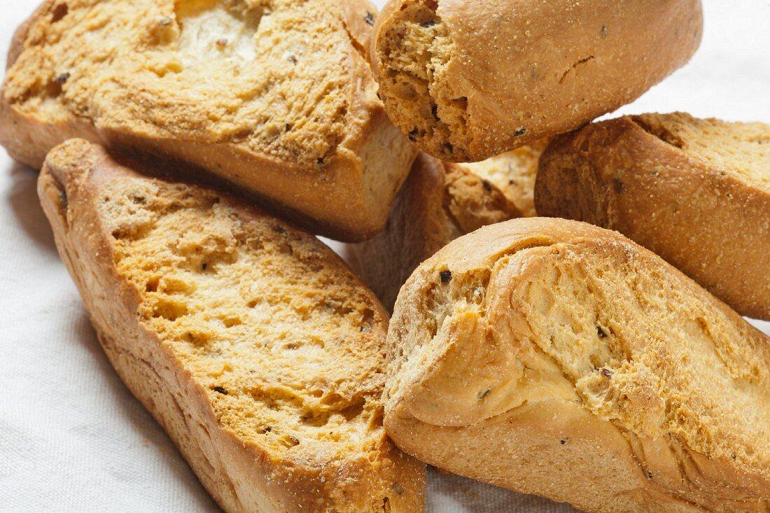 Friselle; Dry Italian Bread
