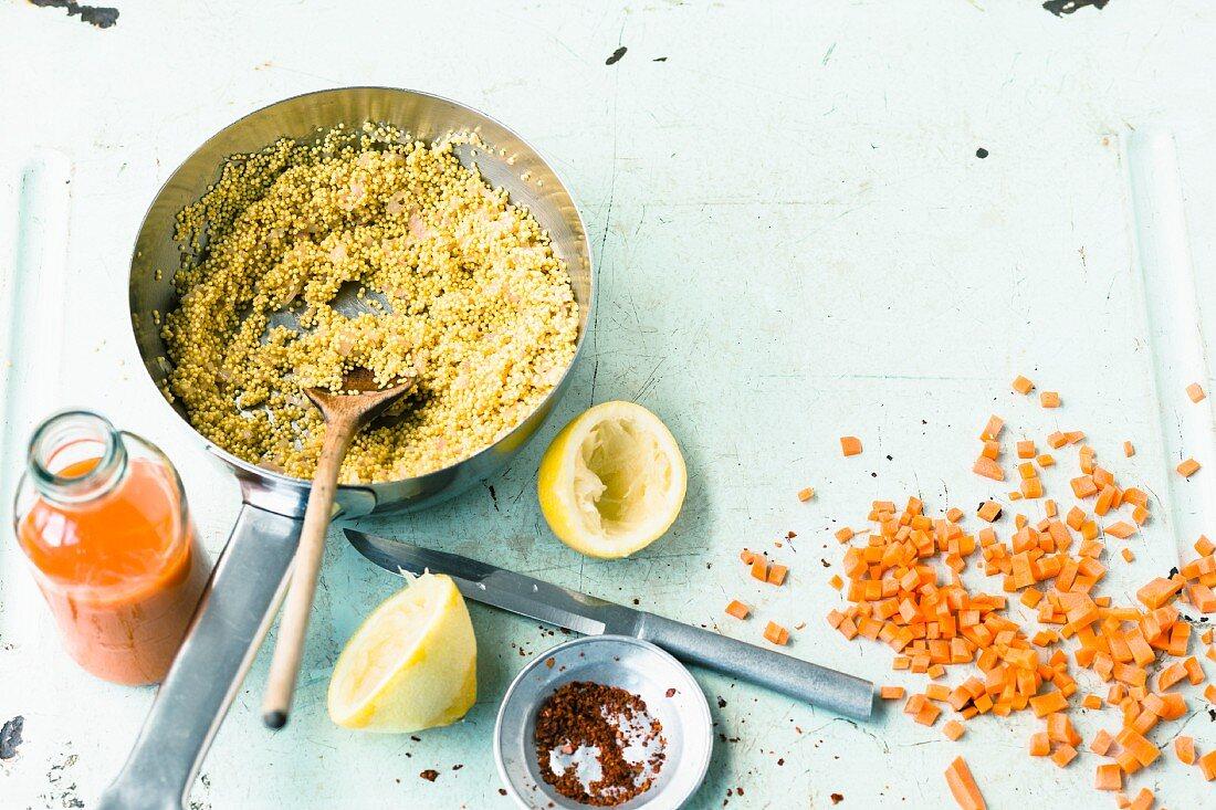 Kochen mit Quinoa