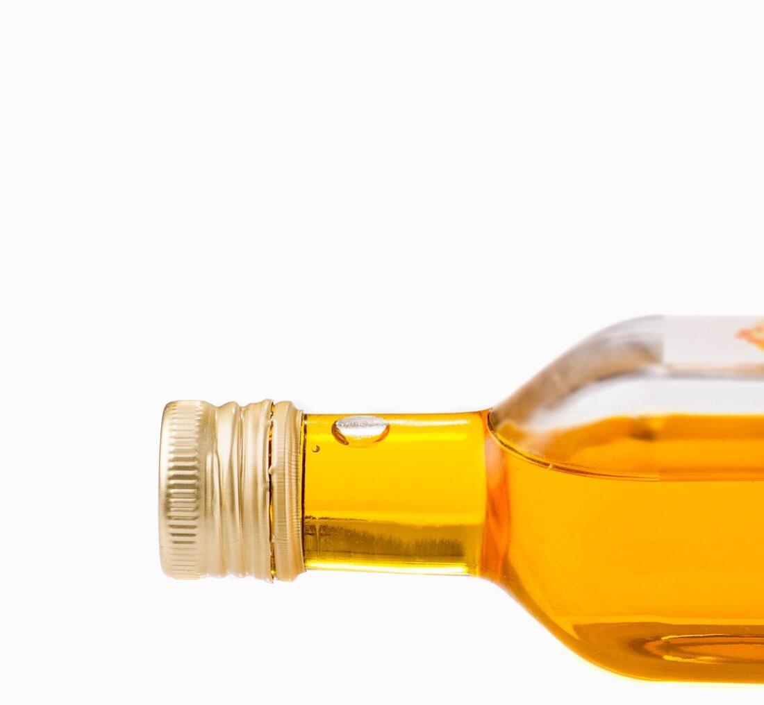 A bottle of oil (detail)
