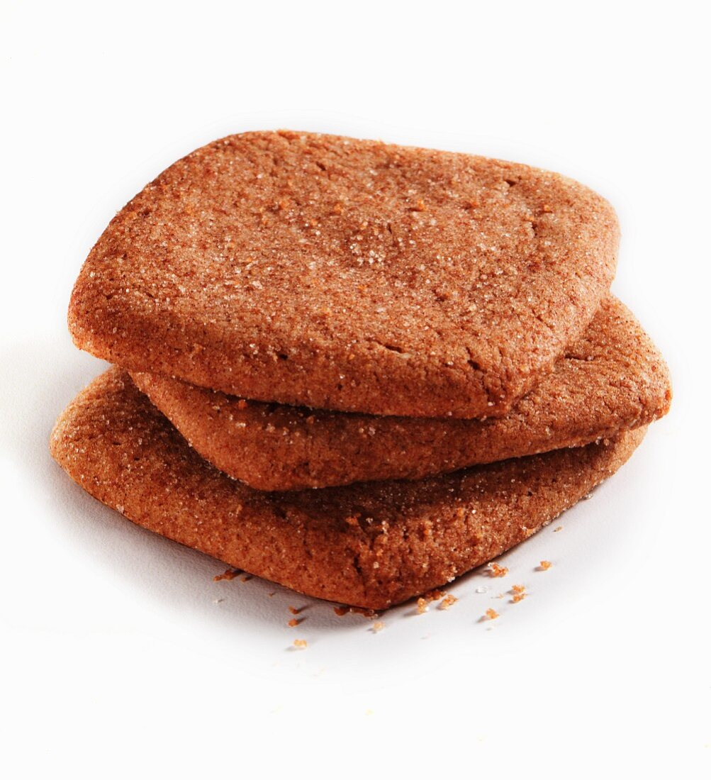 Three wholemeal biscuits