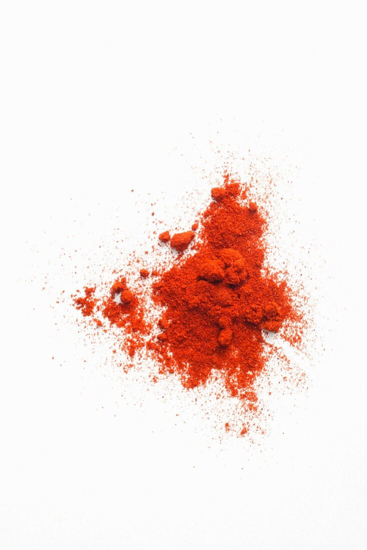A pile of cayenne pepper