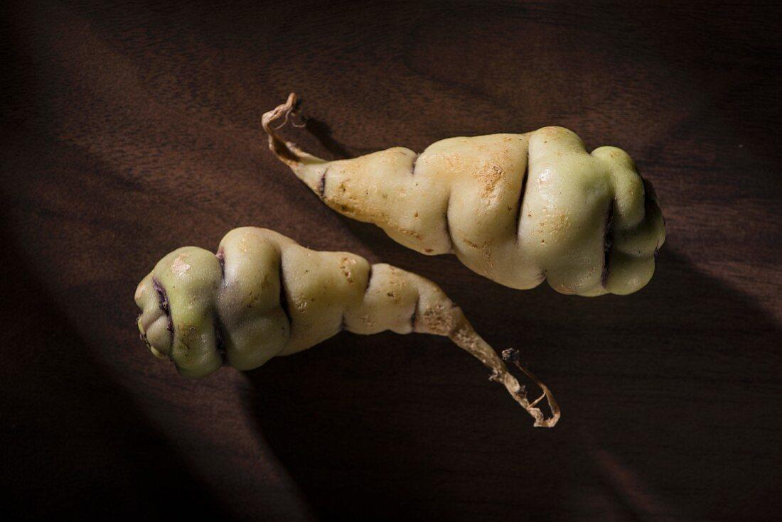 Cubio potatoes