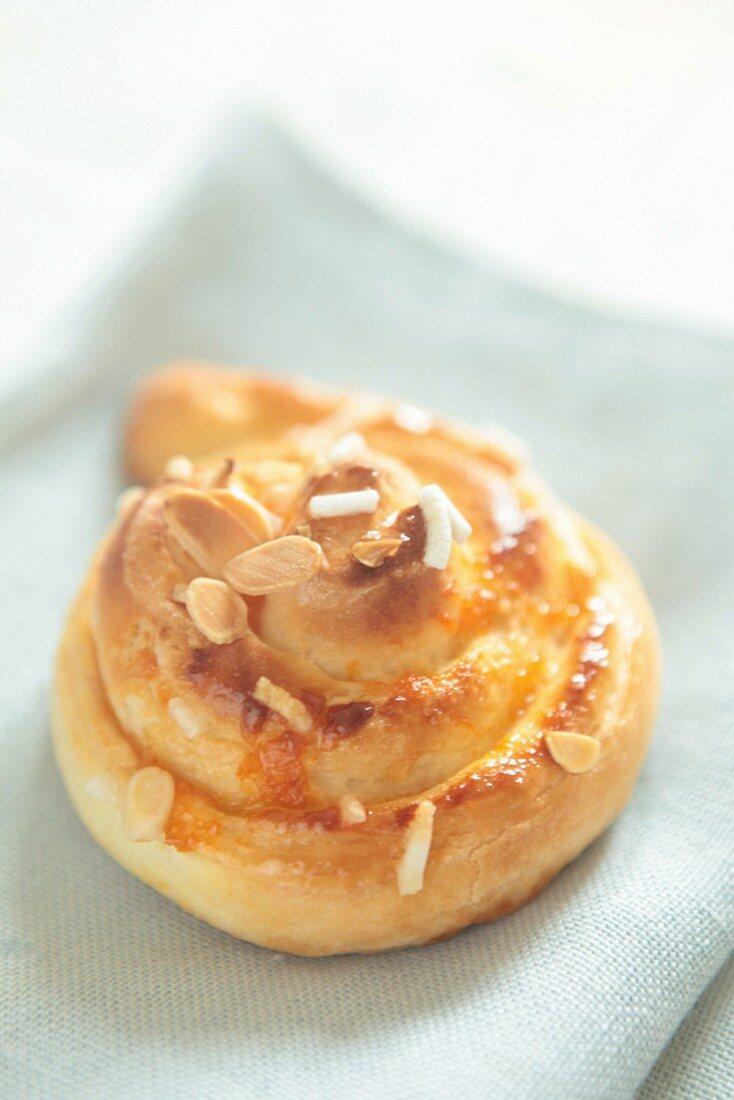 Almond Danish pastry