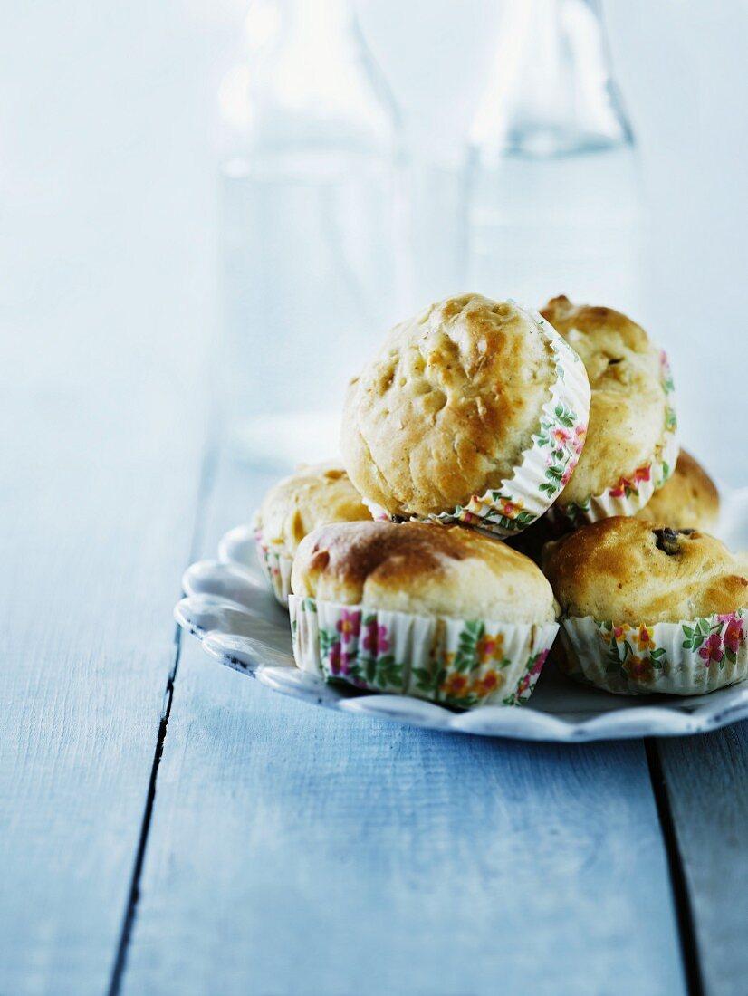 Sweet wheat muffins
