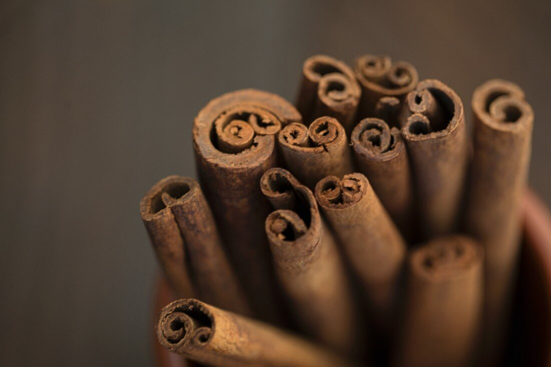 Cinnamon sticks (close-up)