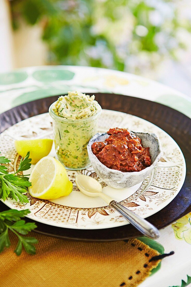 Maggie Beer - Maggie s Barossa Easter - Anchovy Butter and Fig, prune and red wine mustard