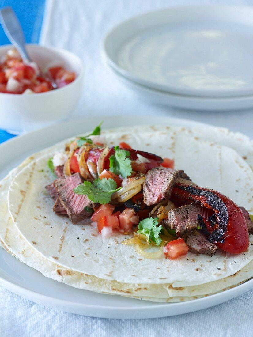 Barbecue Special - Beef Fajitas