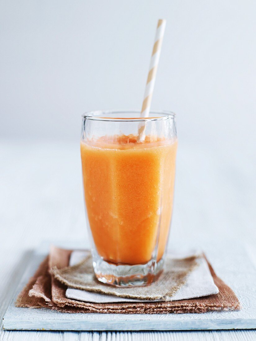 A pick-me-up smoothie shake