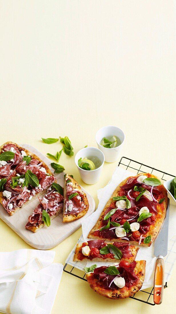 Italian Meat Lovers Pizzas