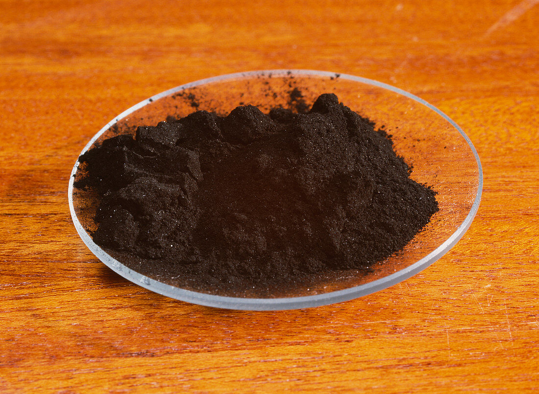 Powdered charcoal