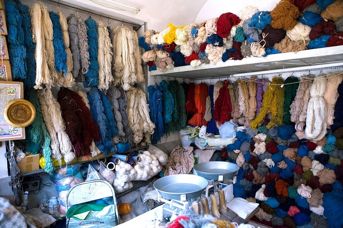 Wool shop,Iran