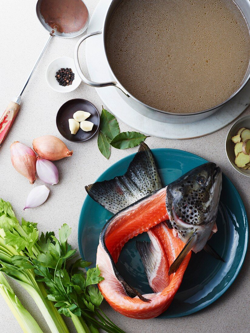 Ingredients for Hu Tieu Do Dien