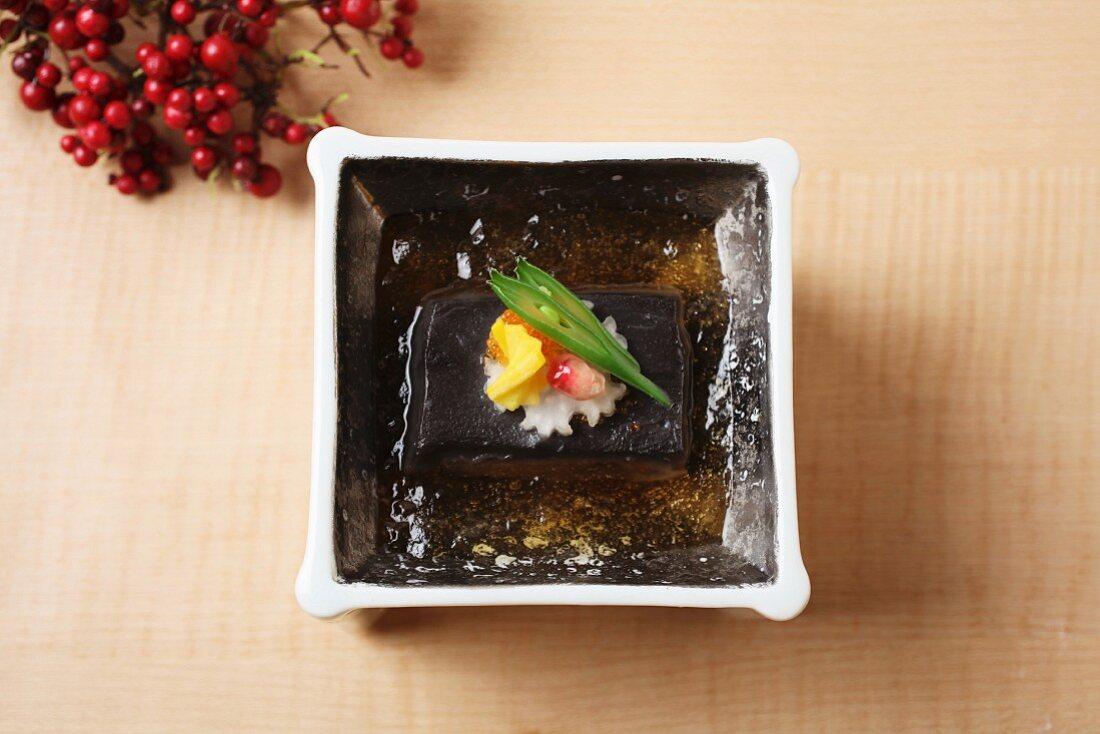 Sesame tofu from Japan
