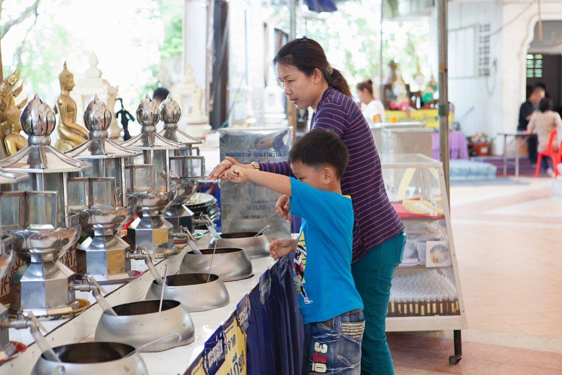 Making Merit, Thailand