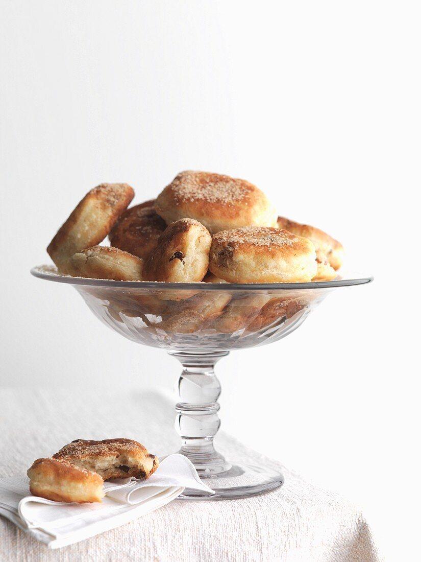 Struwen (North German yeast dough pancakes)