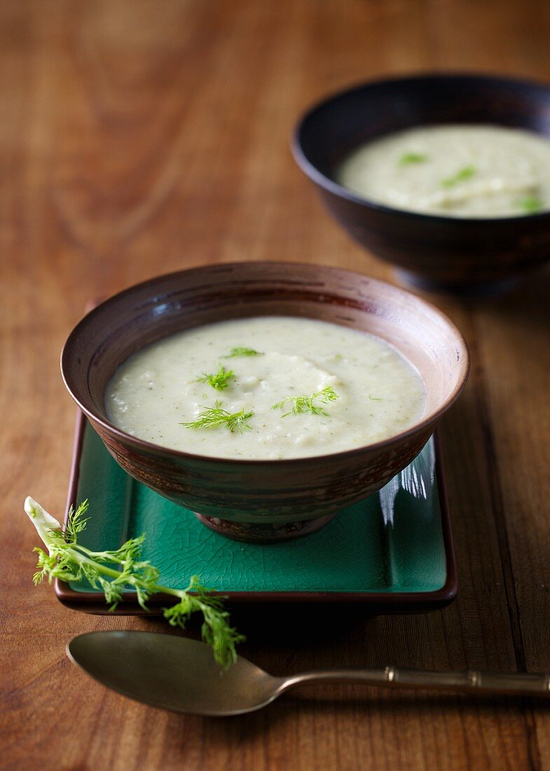 Fennel and potato soup