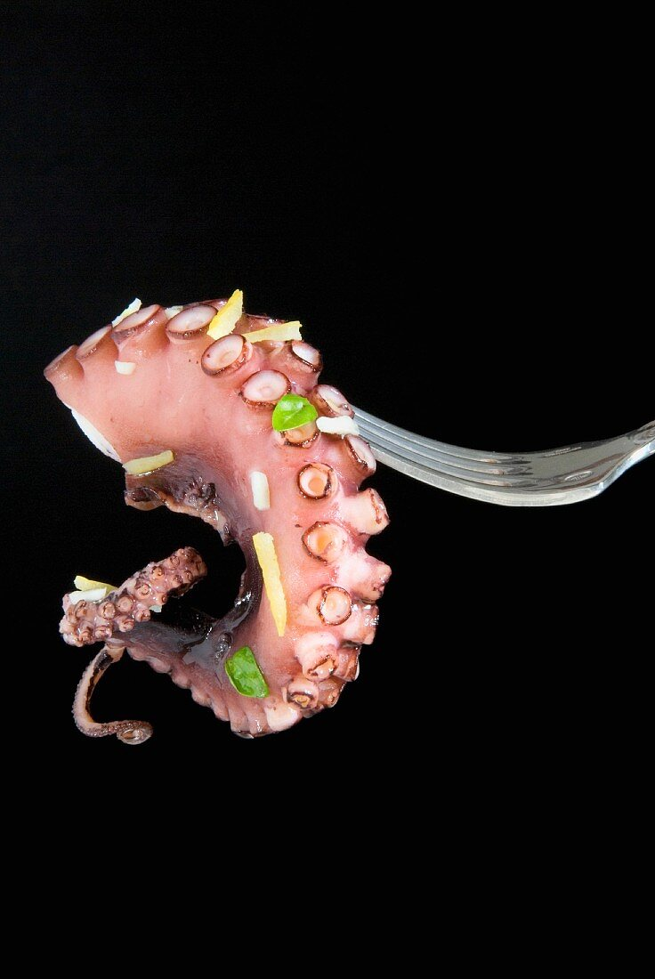 Pulpo guisado, dish from the Canary Islands, Spain, Europe