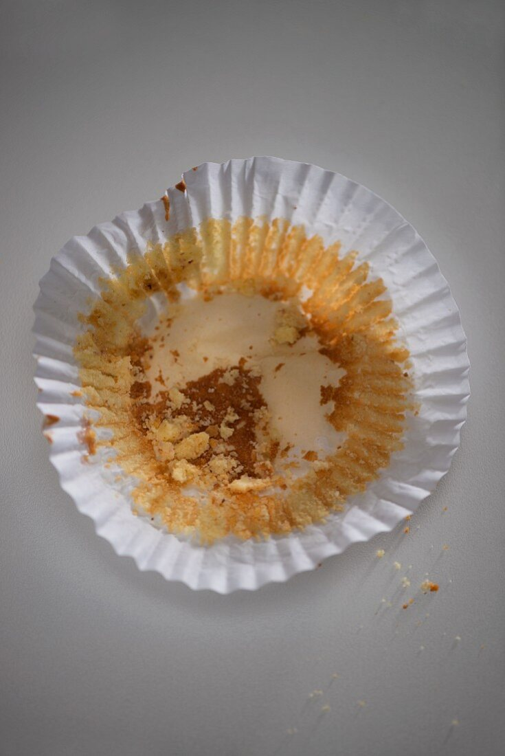 A used muffin case