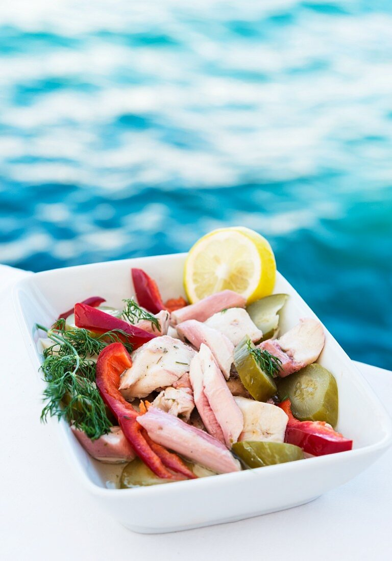 Ahtapot Salatasi (Türkischer Oktopussalat)